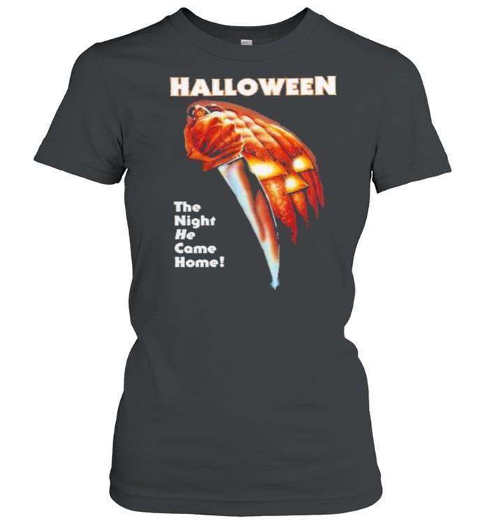 Halloween ladies shirt Classic Women's T-shirt