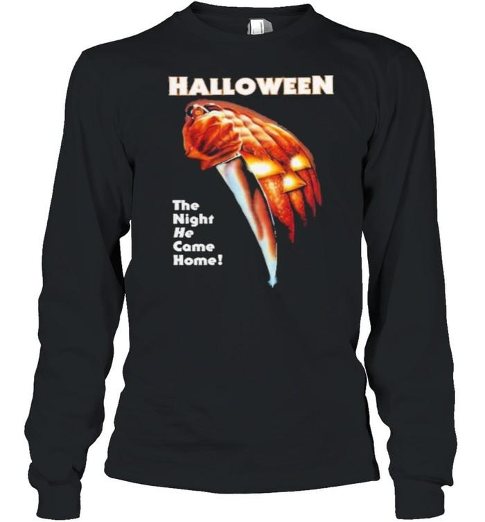Halloween ladies shirt Long Sleeved T-shirt