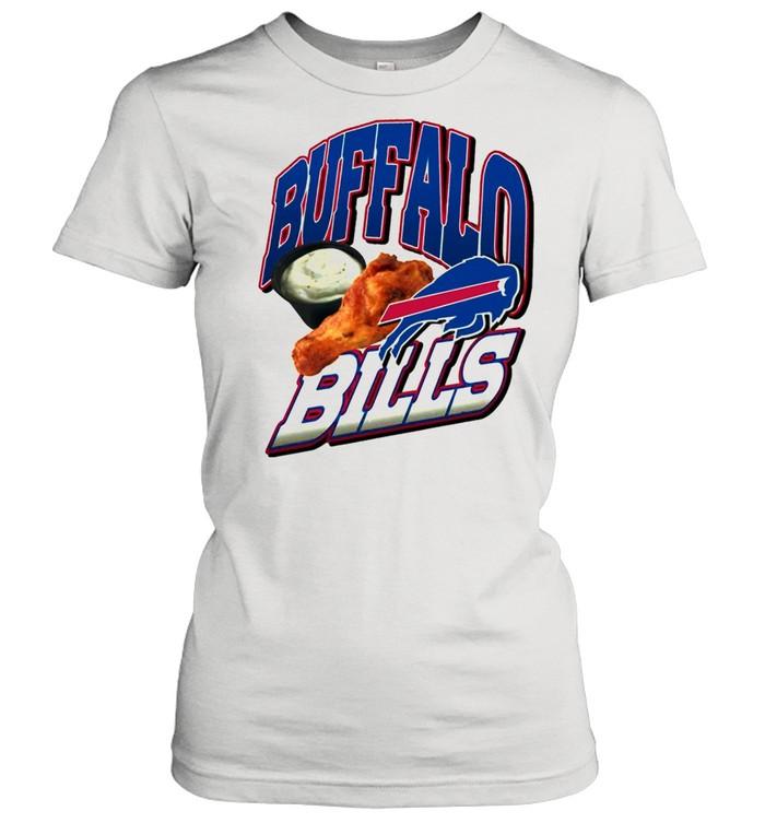 2021 Chicken Thighs Buffalo Bills shirt Classic Women's T-shirt