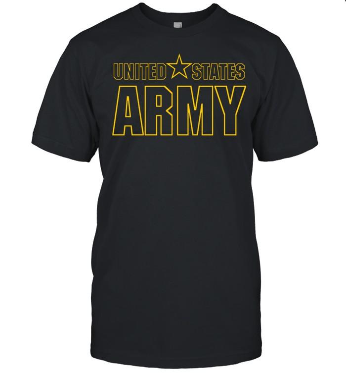 US UNITED STATES ARMY STAR MILITARY shirt