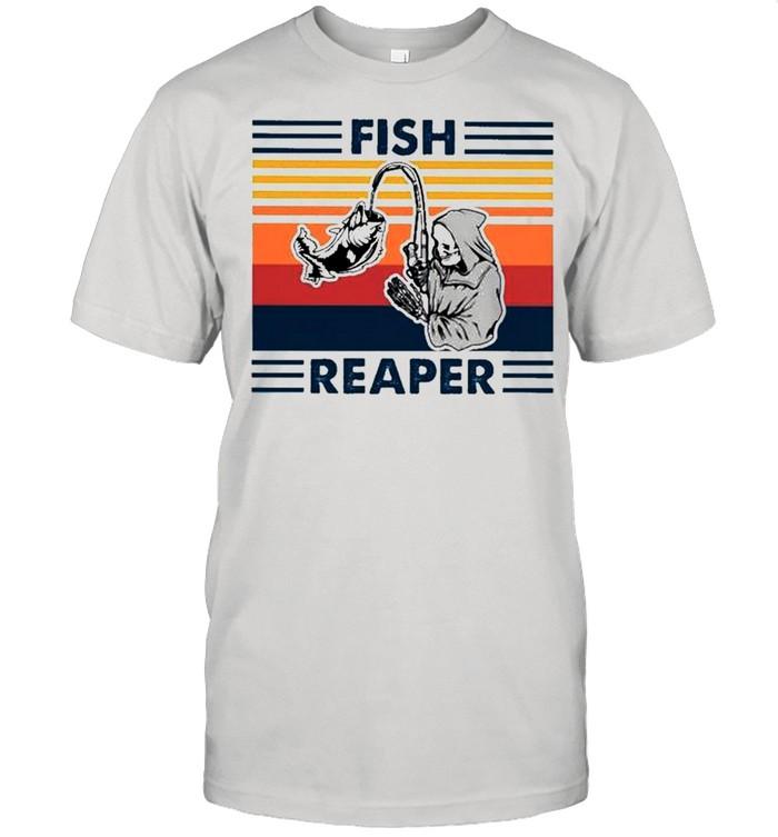 Fish reaper vintage shirt