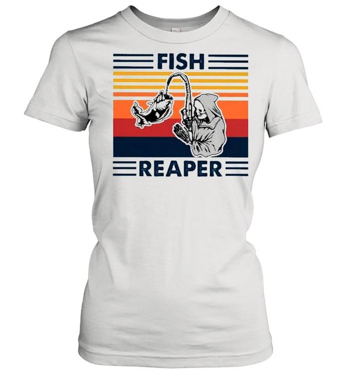 Fish reaper vintage shirt Classic Women's T-shirt