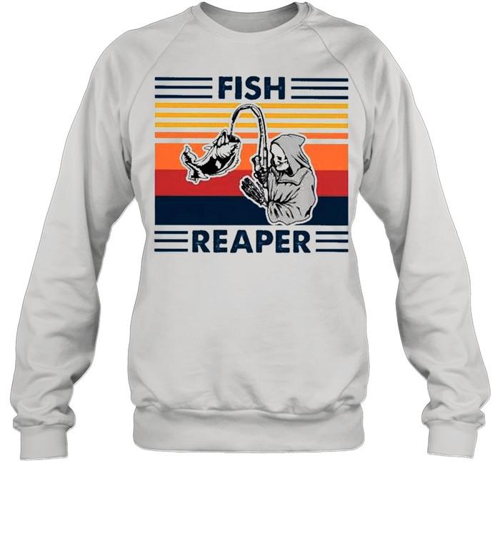 Fish reaper vintage shirt Unisex Sweatshirt