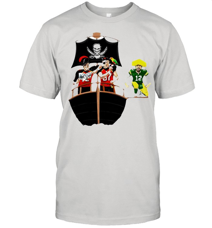 Tampa Bay Buccaneers vs Green Bay Packers 2021 Division champions shirt