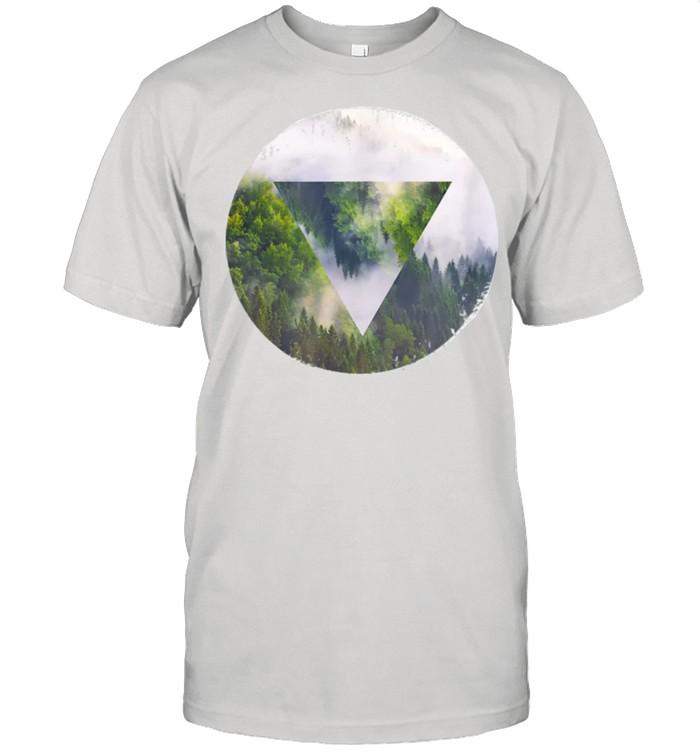 Wood Mirror shirt