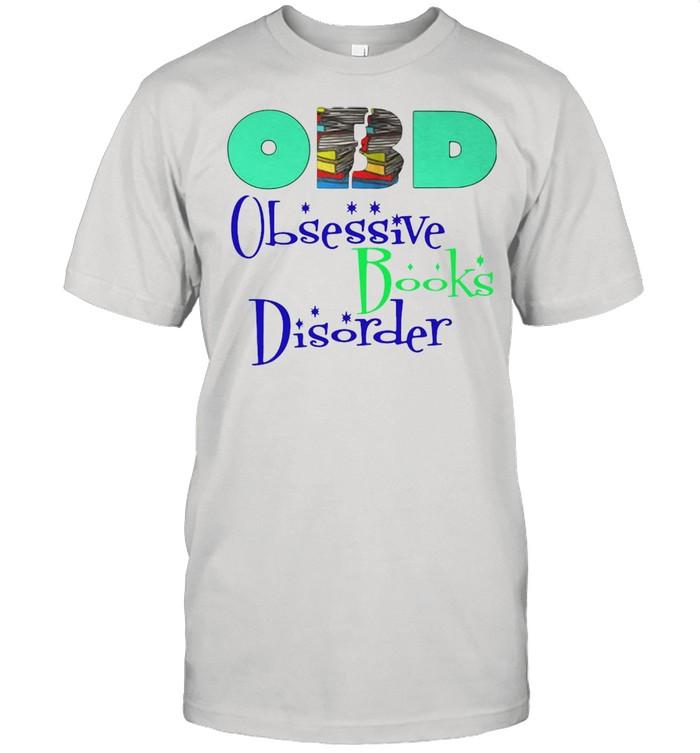 Obd Obsessive Books Disorder shirt