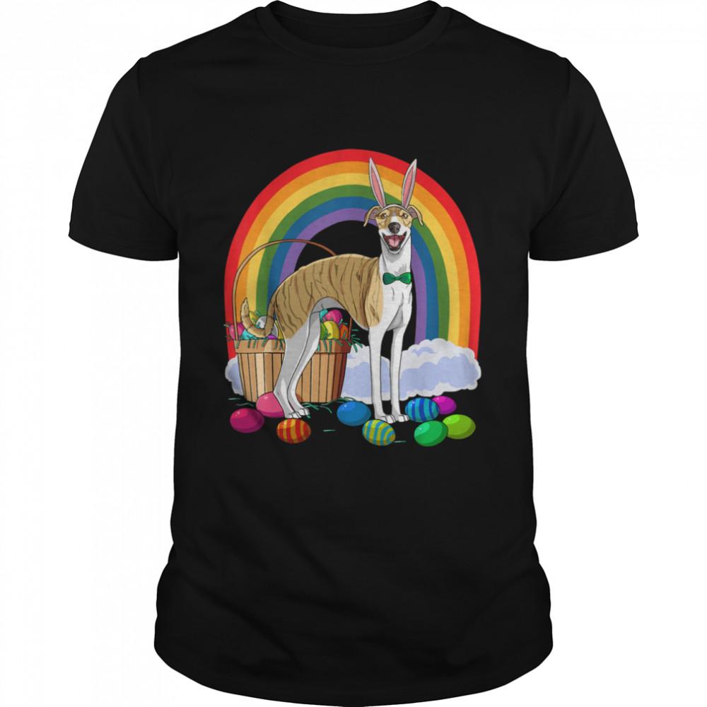Whippet Easter Eggs Bunny Dog shirt