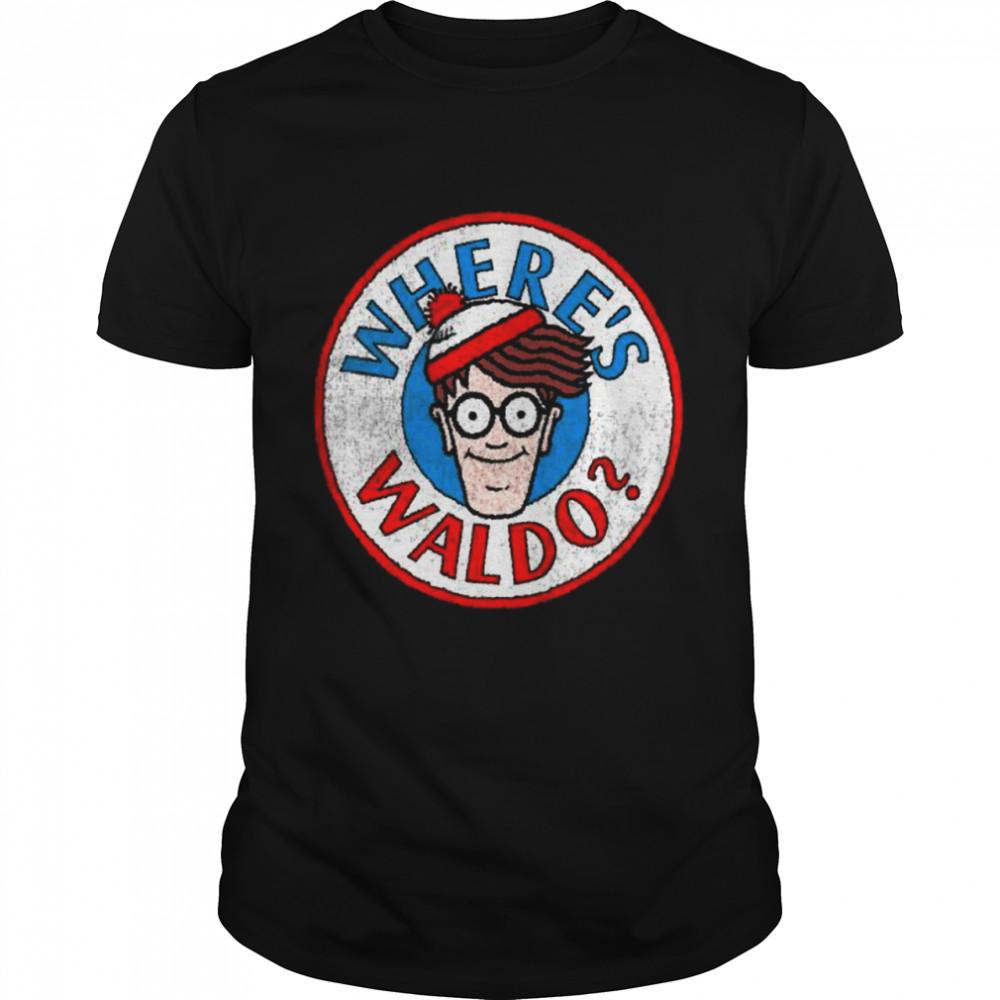 Where's Waldo Classic Circle Logo Shirt