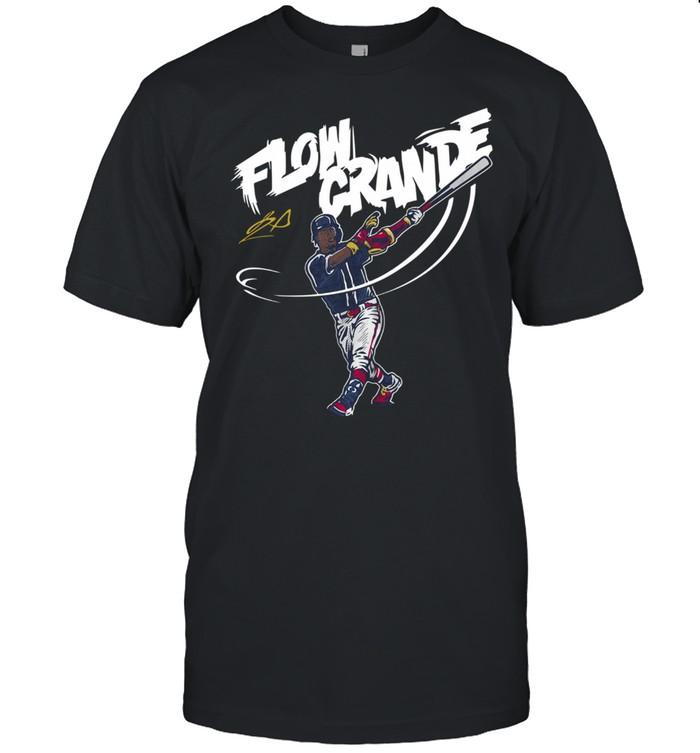 Ronald Acuña Flow Grande Baseball Shirt