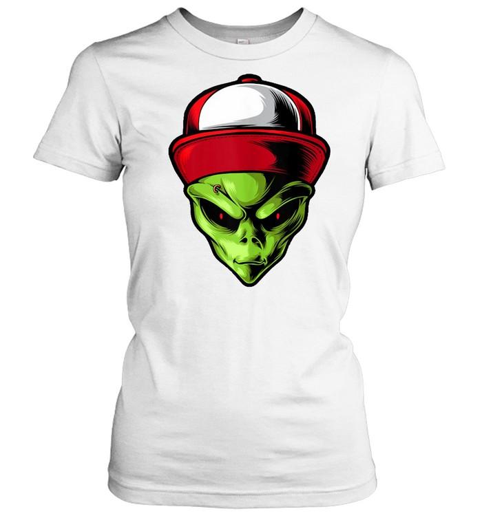Alien Are You Ready  Classic Women's T-shirt